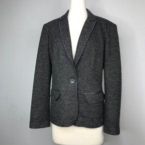 MaxMara Virgin Wool Structured Blazer